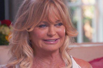 Goldie Hawn lips botox boob job