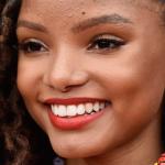 Halle Bailey facelift lips body measurements