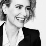Sarah Paulson nose job body measurements facelift
